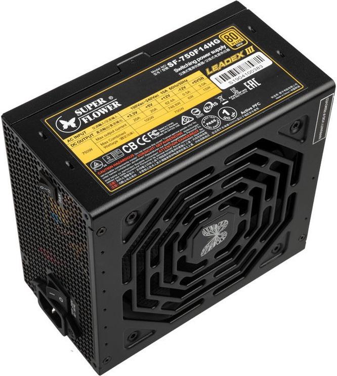 Super Flower Leadex III 80 Plus Gold 750W Black