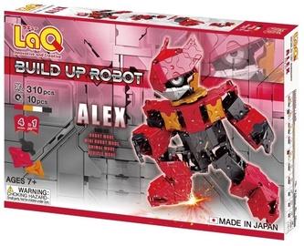 Konstruktorius LaQ Japanese Build Up Robot Alex