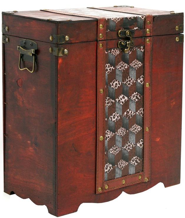 Home4you Box 1 Bao 30.5x17x34cm Brown