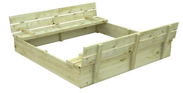 Smilšu kaste 4IQ, 127x127 cm