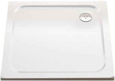 Dušas paliktnis Ravak Perseus Pro Chrome Shower Tray 1000x1000mm White