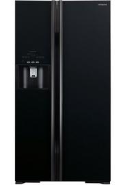Šaldytuvas Hitachi R-S700GPRU2 (GBK) Glass Black
