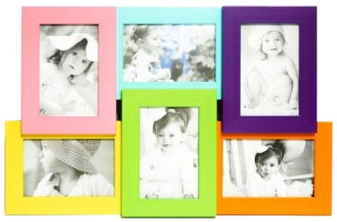 Avatar Photo Frame For 6 Photos Coloured