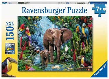Dėlionė Ravensburger XXL Safari Animals, 150 dalių