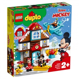 Lego Blocks Duplo Mickey's Vacation House 10889