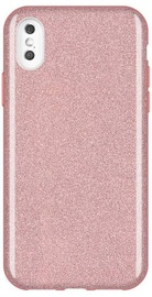 Wozinsky Glitter Shining Back Case For Apple iPhone XS Max Bright Pink