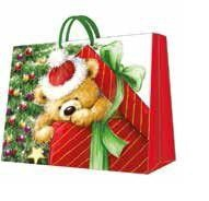 Paw Decor Collection Gift Bag Teddy Bear Gift Large
