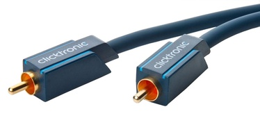 Провод Clicktronic Cable RCA To RCA 2m Blue
