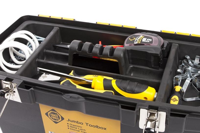 Forte Tools JMT-22 Toolbox 564x310x388mm Black/Yellow