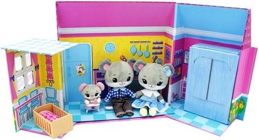 Тряпичная кукла Tiny Tukkins Play House Set With Mini Mouse Family