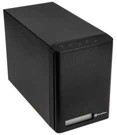 "SilverStone External Enclosure SST-TS432U-V2 RAID 4 Bay 3.5"" HDD Black"