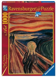 Ravensburger Puzzle Edvard Munch The Scream 1000pcs 15758