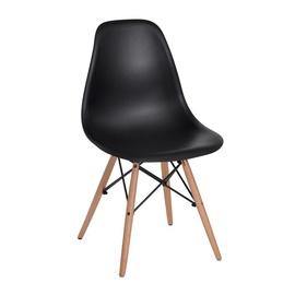 Valgomojo kėdė Rico V1, juoda