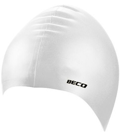 Beco Silicone Swimming Cap White