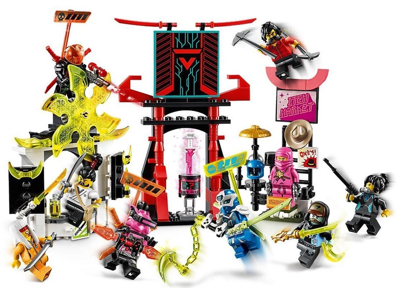 Konstruktorius LEGO Ninjago Gamers Market 71708