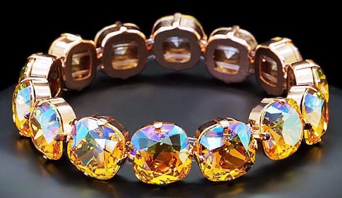 Diamond Sky Bracelet Glare With Crystals From Swarovski