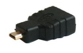 Savio Adapter HDMI / Micro HDMI Black