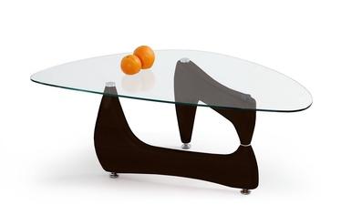 Kavos staliukas Karen wenge spalvos, 119 x 68 x 42 cm