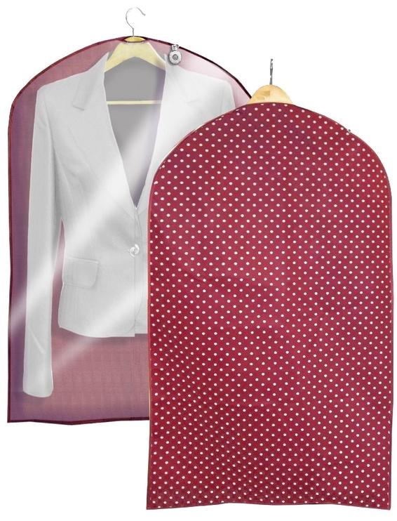 Ordinett Clothing Bag 60x100cm Bordeaux