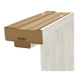 Durų stakta Classen, pilkas ąžuolas, 50 x 1250 x 100 mm