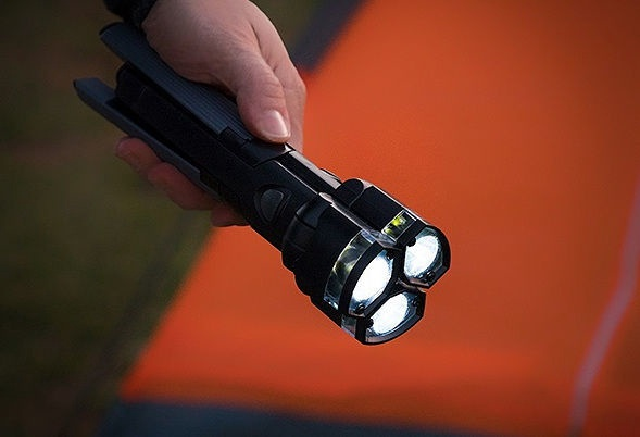 Partner Adventures Adjustable Led Torch With Triple