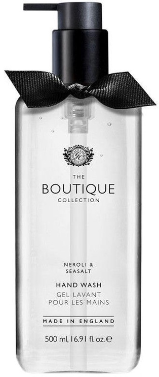 The English Bathing Company Boutique Hand Wash 500ml Neroli & Sea Salt