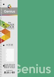 Vihik Genius, ruuduline, A4, 80 lehte
