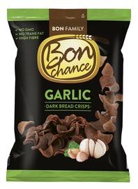 Juodos duonos traškučiai Bon Chance, su česnaku, 120 g
