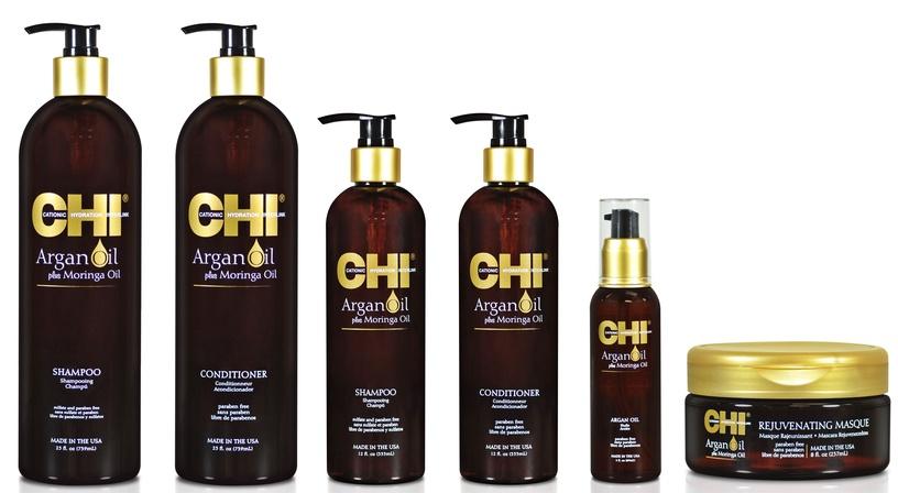 Šampūnas Farouk Systems CHI Argan Oil Plus Moringa Oil, 355 ml