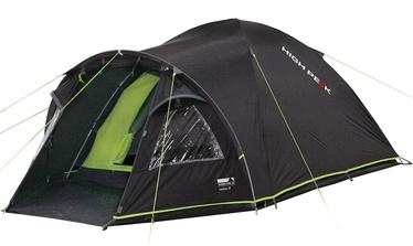 Četrvietīga telts High Peak Talos 4 11510, zaļa/pelēka