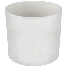 Горшок кер DOMOLETTI, WALEC STRUCTUR, д 23, цвет белый