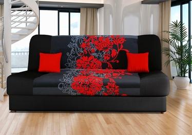 Platan Sofa Jas Kwiaty Red