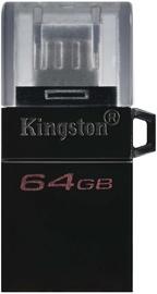 USB atmintinė Kingston DataTraveler microDuo 3.0 G2 OTG, micro USB, 64 GB