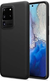Mocco Liquid Soft Back Case For Samsung Galaxy S20 Ultra Black
