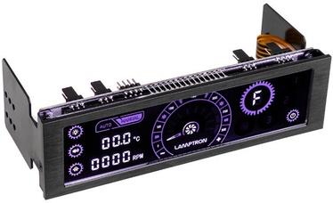 Lamptron CM430 PWM Fan Controller Limited Edtion Violet/Black