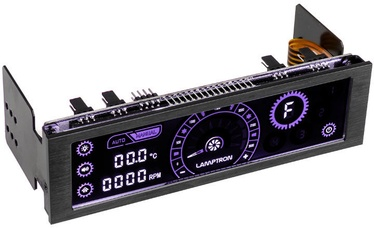 Lamptron CM430 PWM Fan Controller Limited Edtion Violet/Black