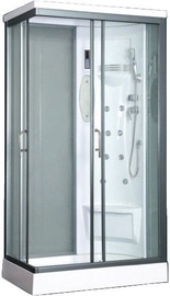 Vento Biello Massage Shower Right 110x218