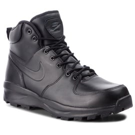 Nike Manoa Leather 454350-003 Black 42.5