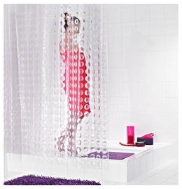 Vonios užuolaida Ridder Loupe Peva, 200 x 180 cm