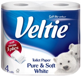 Veltie Pure and Soft 4pcs White