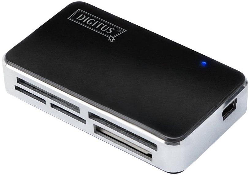 Картридер Digitus DA-70322-1 USB 2.0 Card Reader