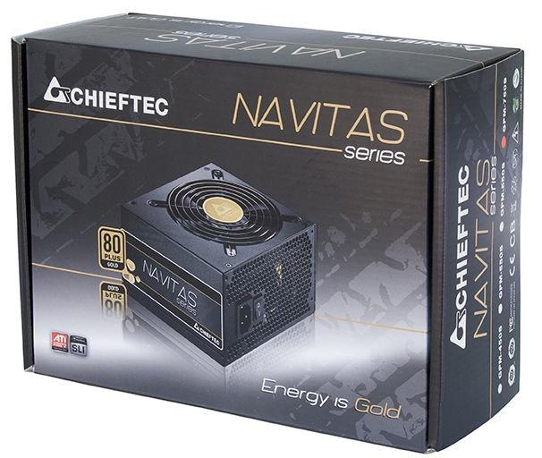 Chieftec ATX 2.3 NAVITAS 550W GPM-550S