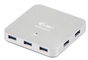 USB-разветвитель (USB-hub) Pretec i-tec USB 3.0 Metal Charging HUB 7 Ports