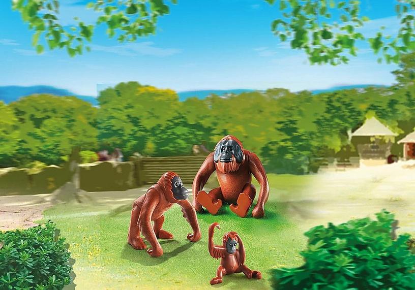 Playmobil Orangutan Family 6648