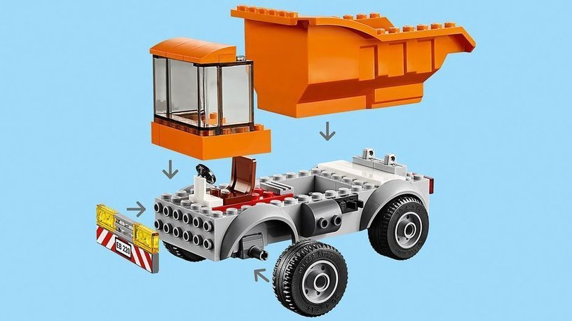 Konstruktorius LEGO City Garbage Truck 60220