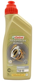 Масло для трансмиссии Castrol Transmax Manual Transaxle 75W - 90, для трансмиссии, для легкового автомобиля, 1 л