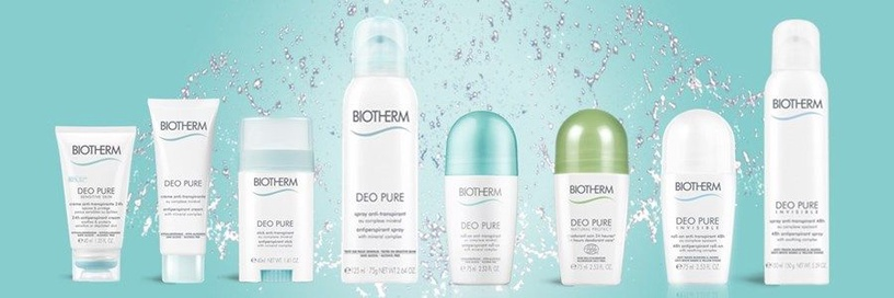 Biotherm Deo Pure 75ml Antiperspirant Roll-On