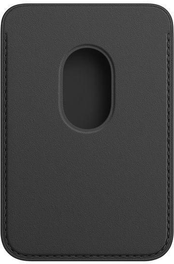 Кошелек Apple iPhone Leather Wallet with MagSafe, черный