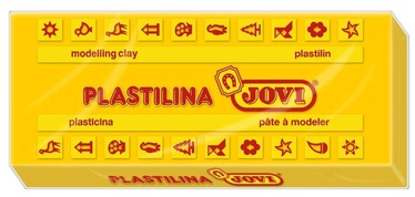 Jovi Plasticine 350g Dark Yellow