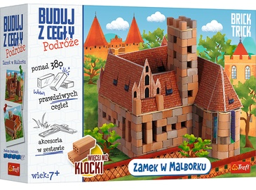 Konstruktors Trefl Brick Trick Travel 61384, 380 gab.